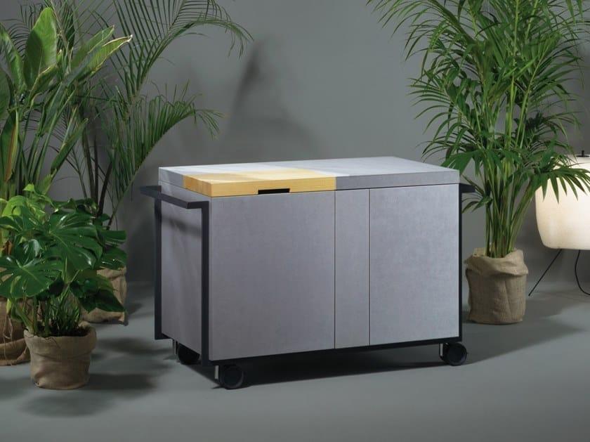 Outdoor Küche Elektro : Garten elektro outdoorküche aus paperstone® qb 01 by sanwa company