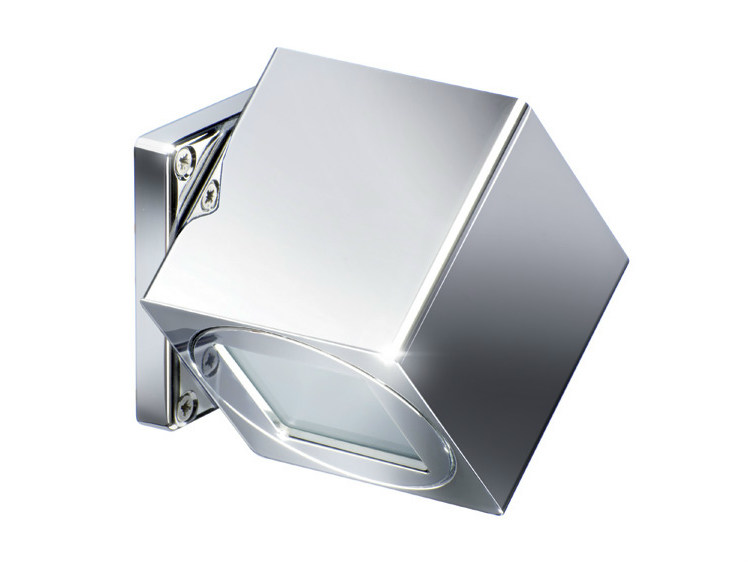 LED adjustable wall light QB COMPASS 2L 2+2W by Quicklighting