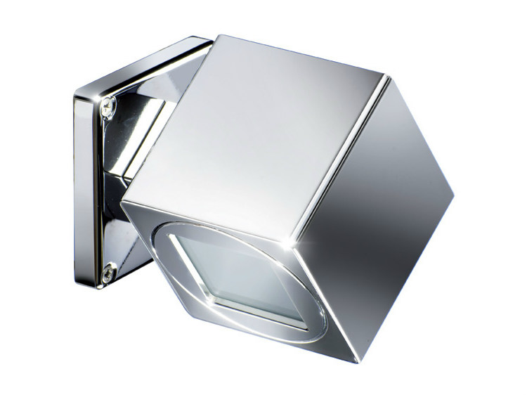 LED direct light wall light QB SPIN 1L 2W by Quicklighting