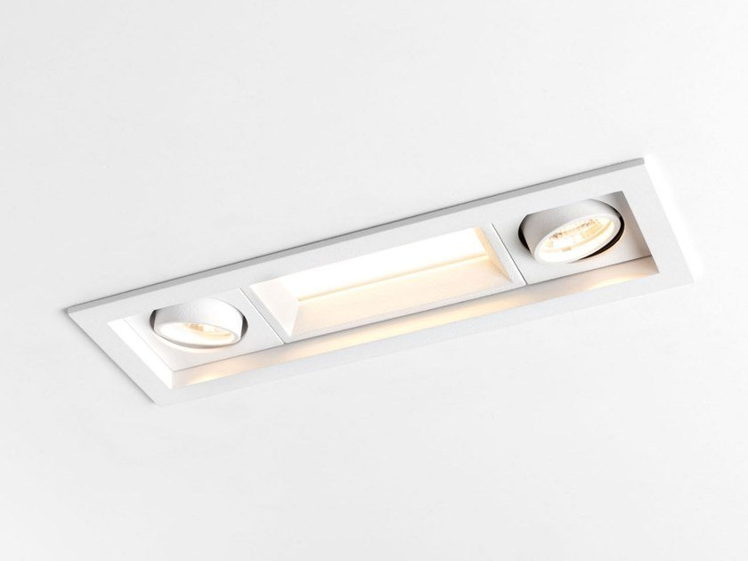 Lampada da soffitto a LED a incasso QBINI GENERAL by Modular Lighting Instruments