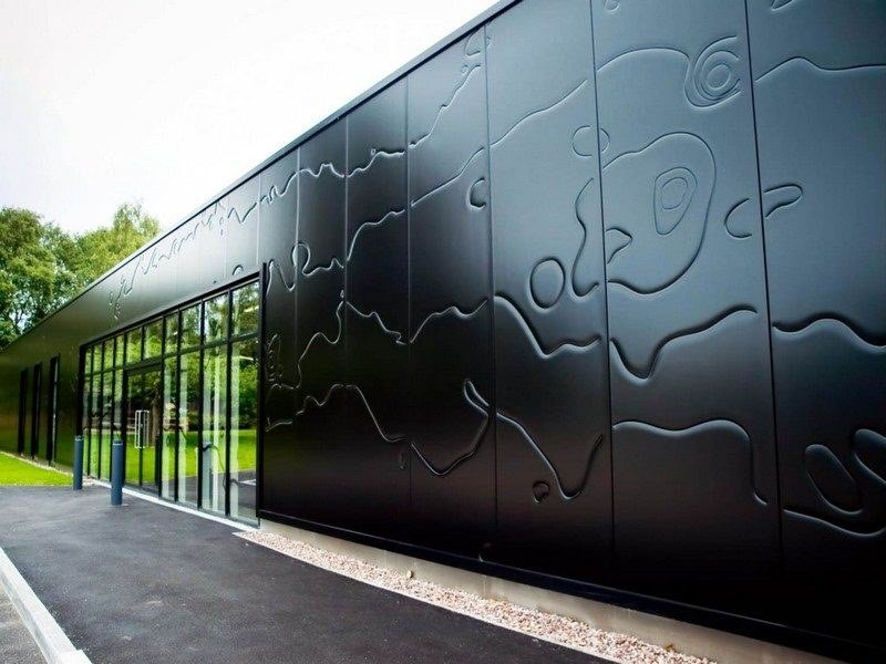 Insulated metal panel for facade QBISS ONE by Trimo