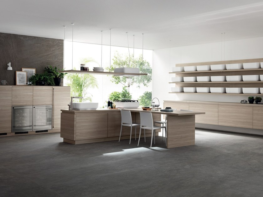 Cucina componibile QI By Scavolini design Nendo
