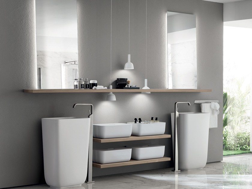 Bathroom furniture set QI by Scavolini Bathrooms