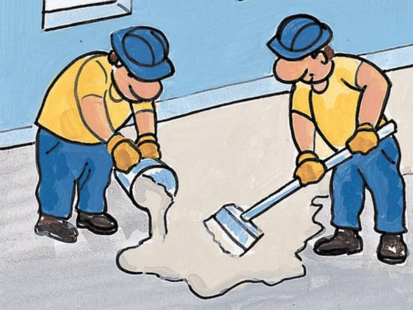 Indurente antipolvere per pavimentazioni e massetti in cls QL FLUOSIL by Azichem