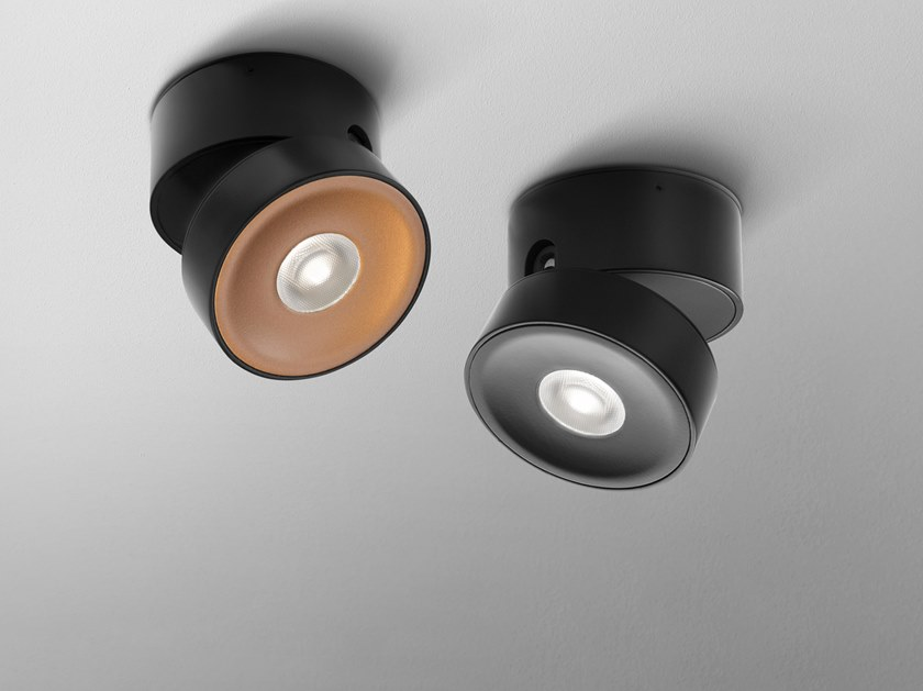 LED adjustable ceiling spotlight QRLED MINI by AQForm
