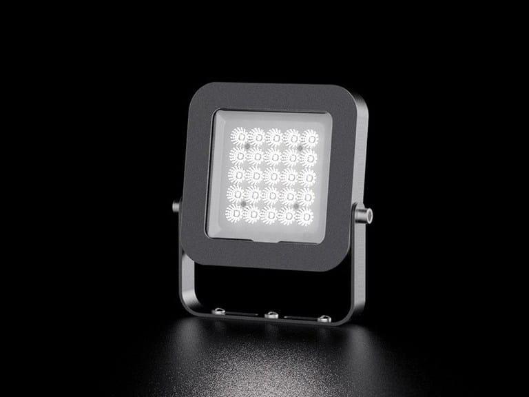LED die cast aluminium Outdoor floodlight QS/QM | Outdoor floodlight by LANZINI