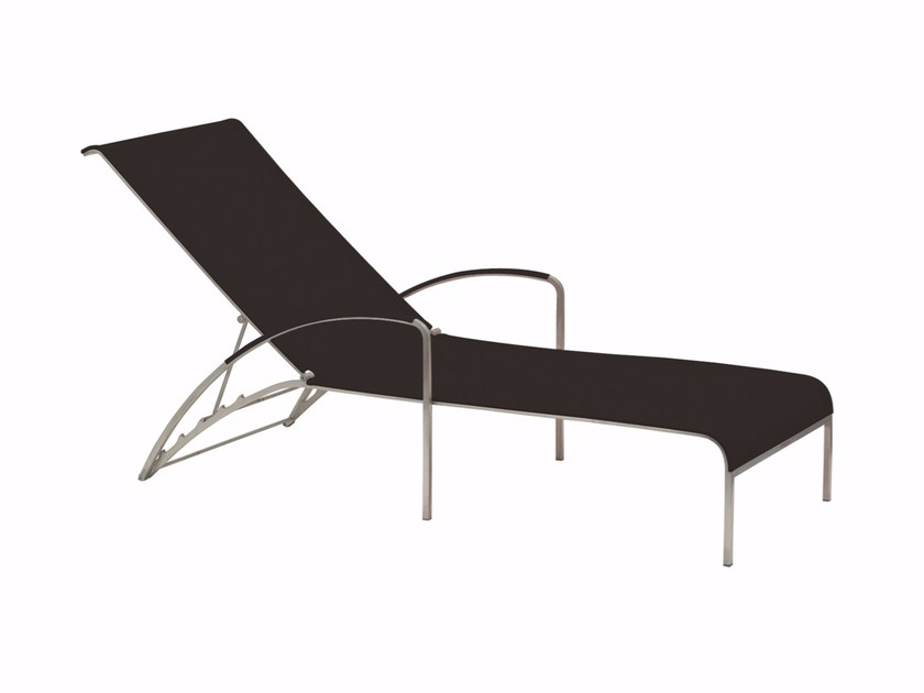 Recliner Batyline® garden daybed QT | Garden daybed by ROYAL BOTANIA