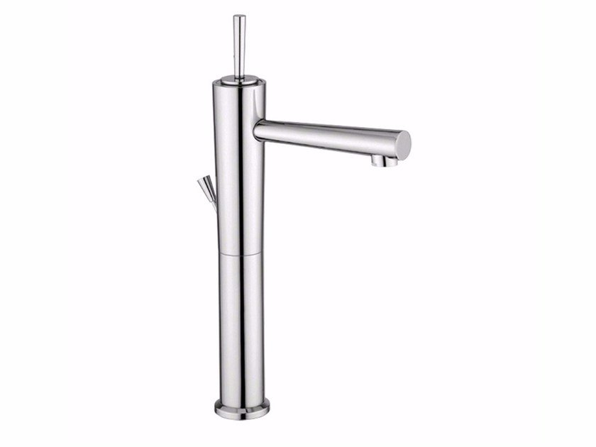 Countertop single handle washbasin mixer QUACK - F9111BLA by Rubinetteria Giulini