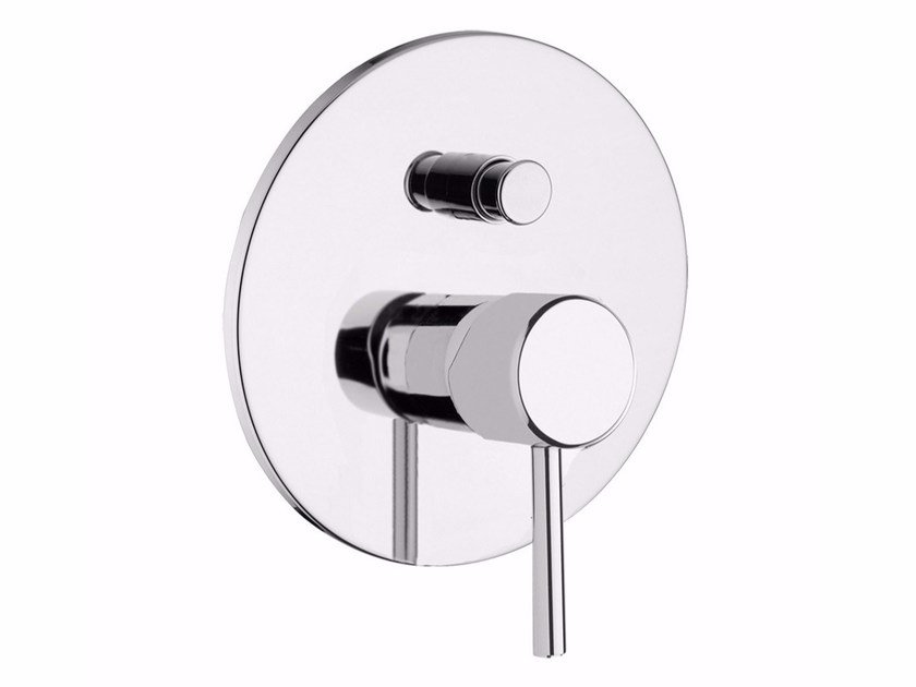 Single handle shower mixer with diverter QUACK - F9113 by Rubinetteria Giulini