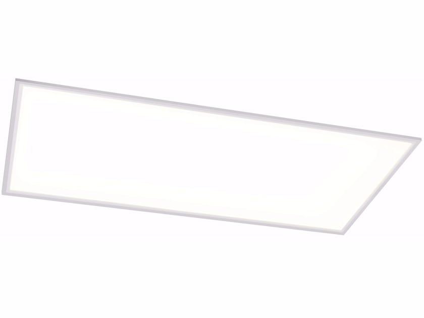 Aluminium wall lamp / ceiling lamp QUAD X 60x120 72W by Quicklighting