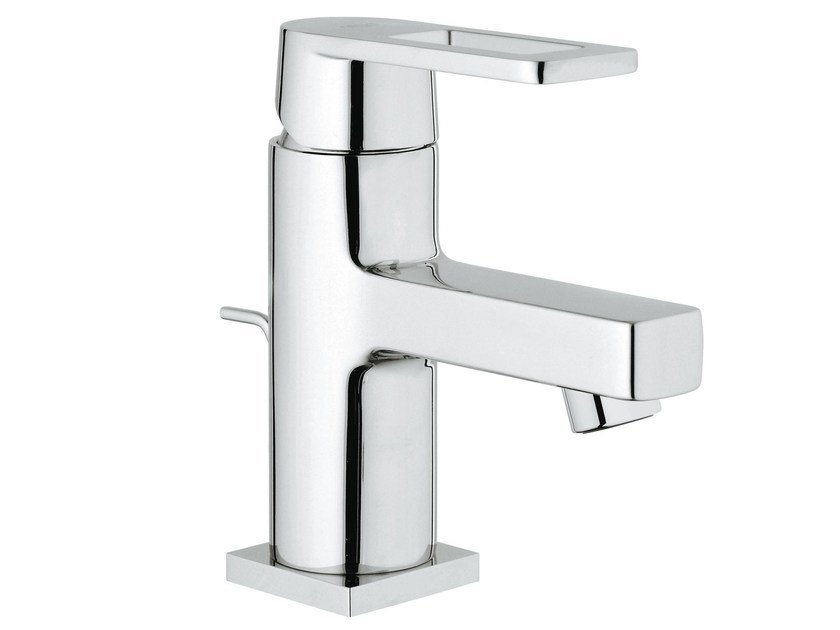 Countertop washbasin mixer with pop up waste QUADRA S | Washbasin mixer with aerator by Grohe