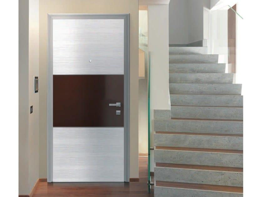 Pannello di rivestimento per porte blindate QUADRANTE by Alias Security Doors