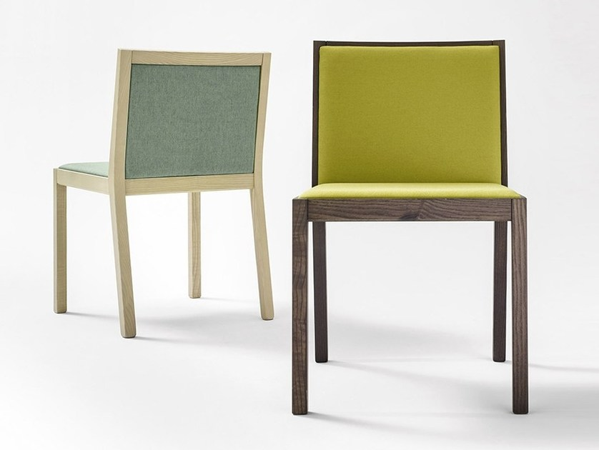 Upholstered chair QUADRAT by Novamobili