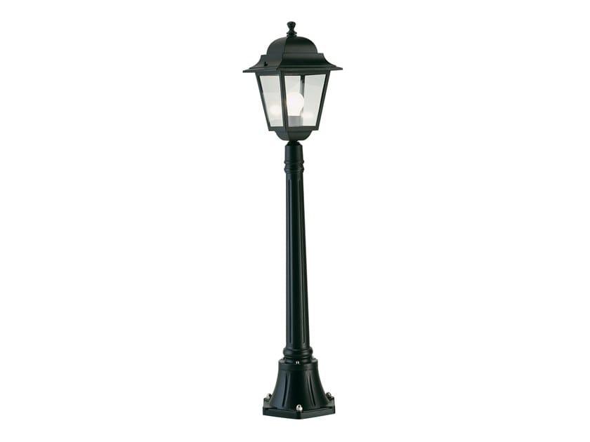Lampione da giardino a lanterna in alluminio pressofuso QUADRATA 340 by SOVIL
