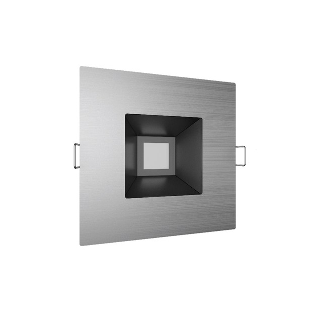 LED ceiling recessed metal spotlight QUADRATO 10 by NEXO LUCE