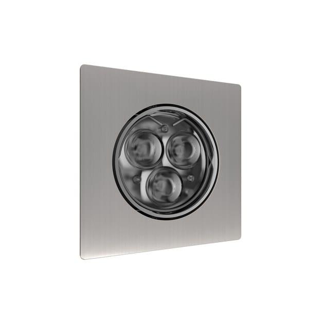 LED adjustable recessed spotlight QUADRATO 3 by NEXO LUCE