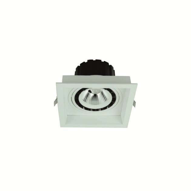 LED recessed adjustable spotlight QUADRATO ADJ by INLUX ITALIA by NEXO LUCE
