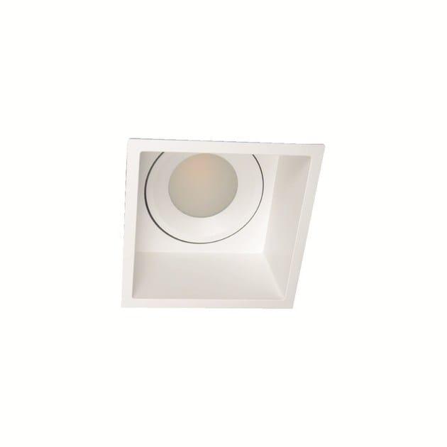 LED recessed square spotlight INLUX ITALIA - QUADRATO by NEXO LUCE