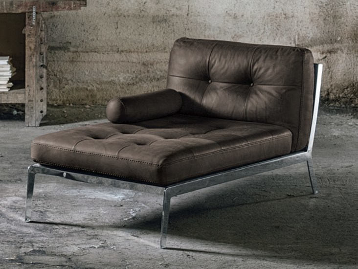 Tufted day bed QUADRIFOGLIO by Max Divani