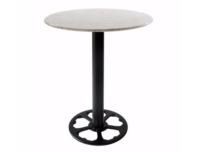 Cast iron table base QUADRIFOGLIO by Vela Arredamenti