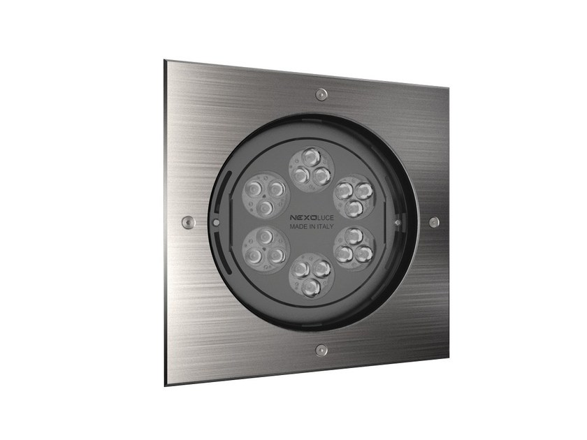 LED adjustable recessed Outdoor spotlight QUADRO 18 by NEXO LUCE