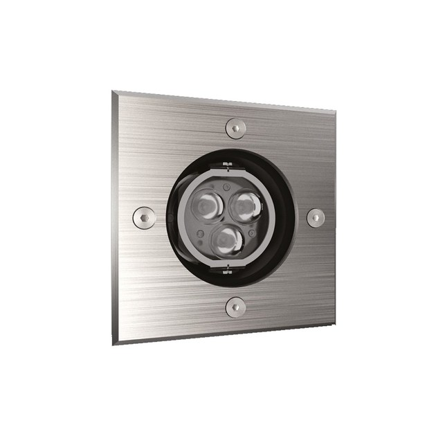 LED adjustable recessed Outdoor spotlight QUADRO 3 by NEXO LUCE