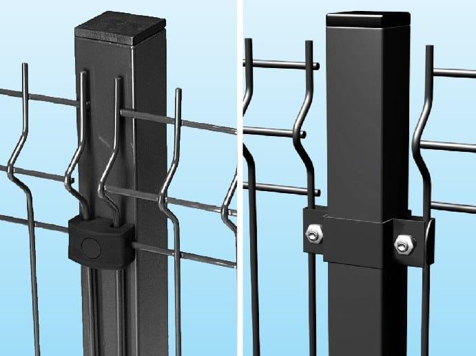Modular metal Fence QUADRO by Ferro Bulloni