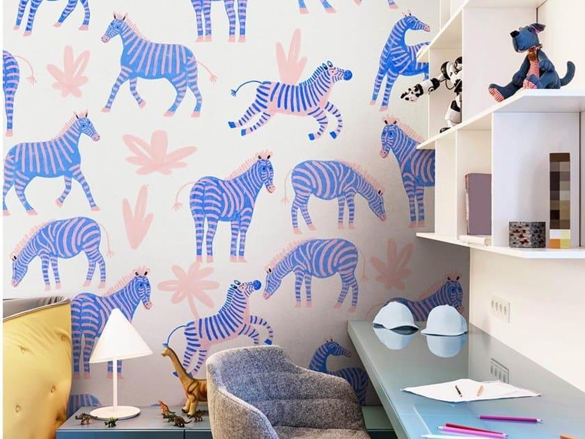 Papel de parede ecológico de tecido não tecido QUAGGA by Wallpepper Group