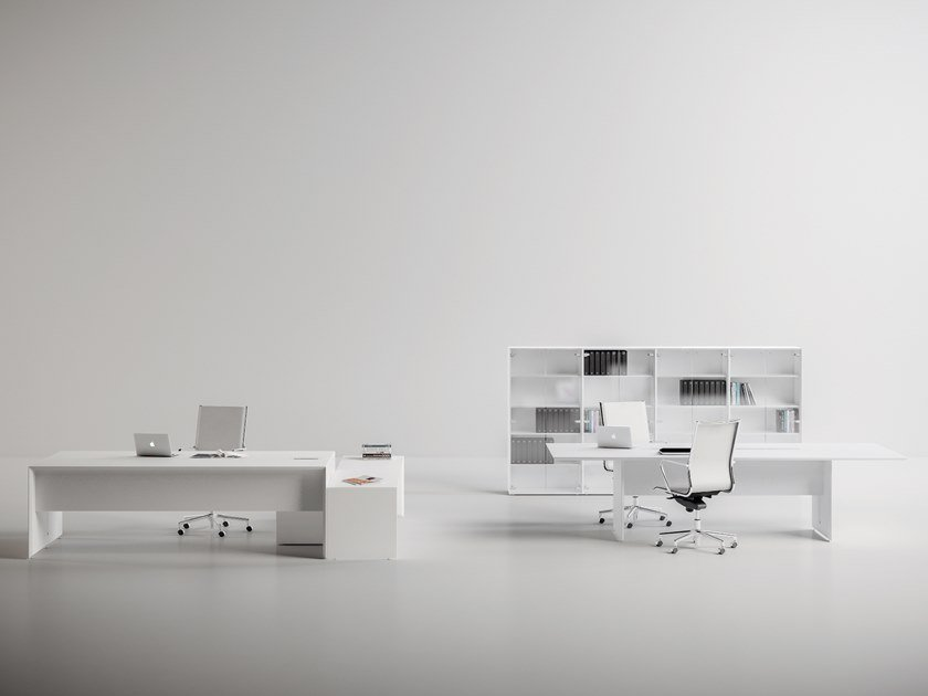 Office workstation / office desk QUARANTA5 - EXTRALONG by FANTONI