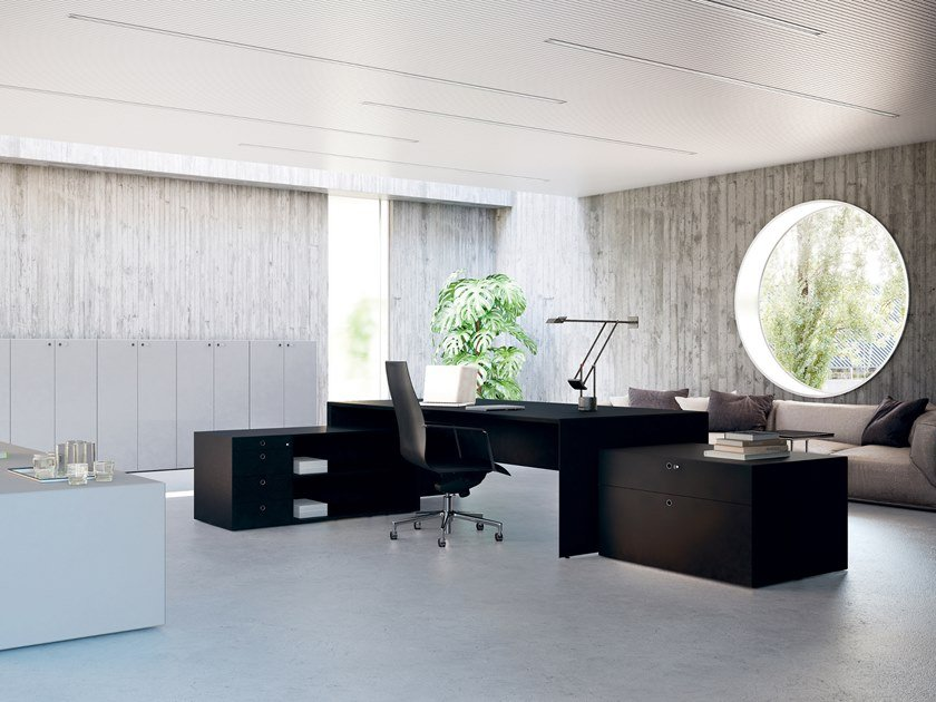 Executive desk QUARANTA5 | Executive desk by FANTONI
