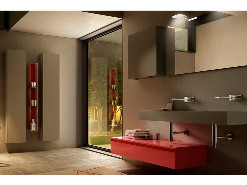 Bathroom furniture QUARANTACINQUE by Gran Tour