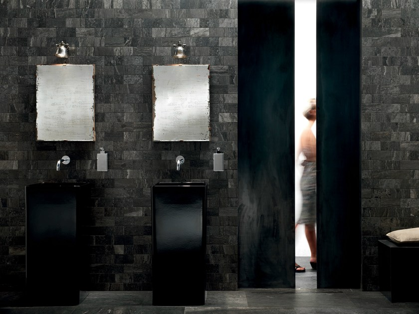 QUARRY BLACK Quarry Collection By ASTOR CERAMICHE