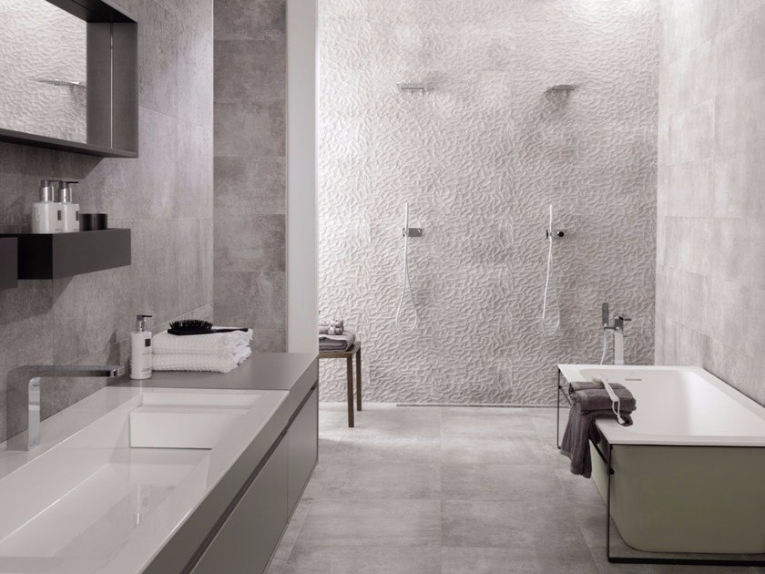 Indoor ceramic wall tiles QUARTER by Venis