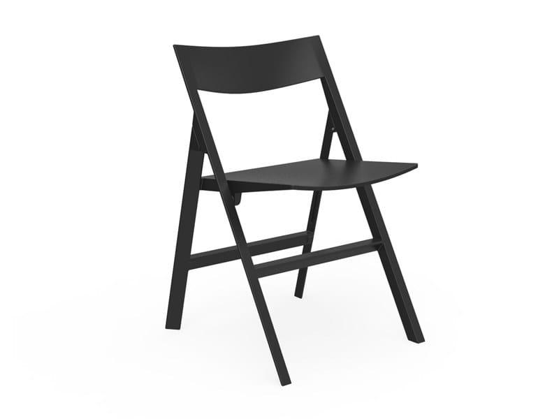 Folding polyamide garden chair QUARTZ | Folding chair by VONDOM
