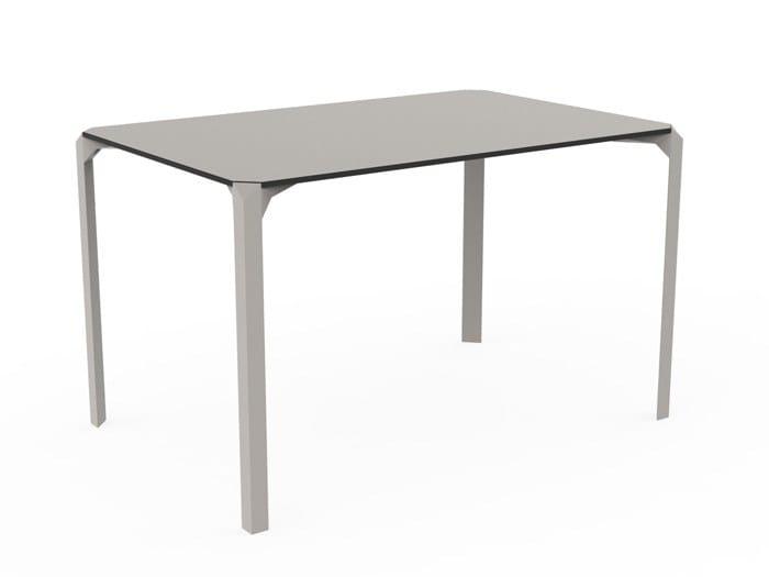 Rectangular polyamide garden table QUARTZ | Rectangular table by VONDOM