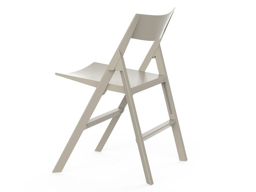 Folding garden chair with footrest QUARTZ | Folding chair by VONDOM
