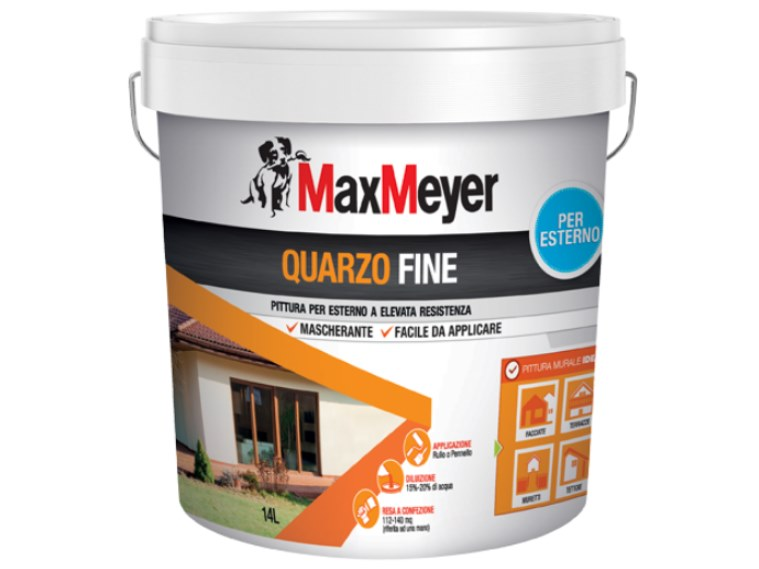 Quartz paint QUARZO FINE by MaxMeyer
