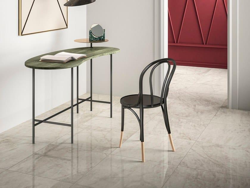 Pavimento/rivestimento effetto marmo QUARZO GREIGE by GranitiFiandre