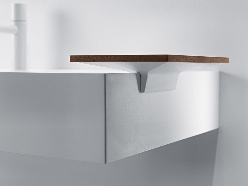 Bathroom wall shelf QUATTRO.ZERO | Bathroom wall shelf by FALPER