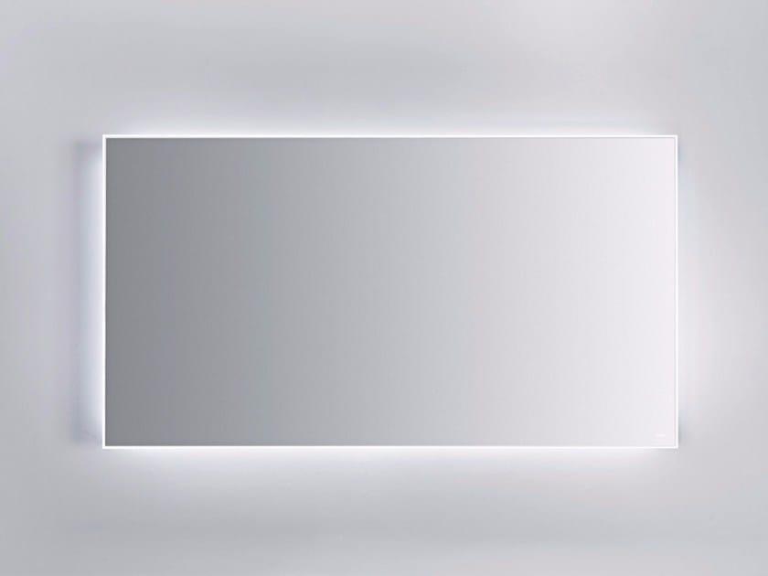 Specchio a parete con illuminazione integrata per bagno QUATTRO.ZERO   Specchio by FALPER