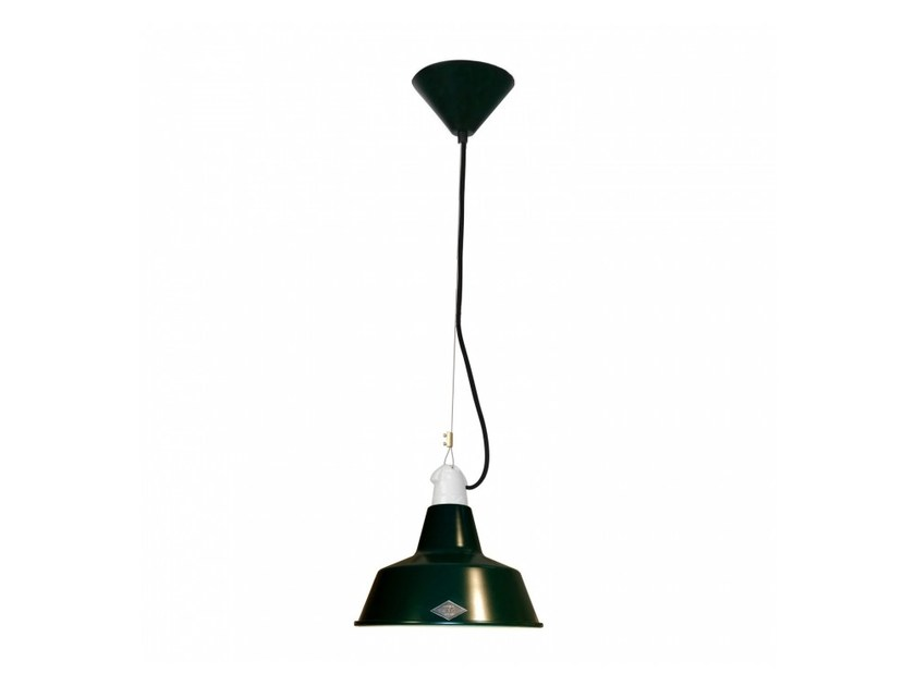 Direct light aluminium pendant lamp with dimmer QUAY SMALL by Original BTC