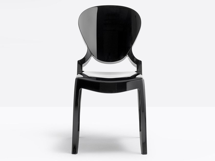 Polycarbonate chair QUEEN by PEDRALI