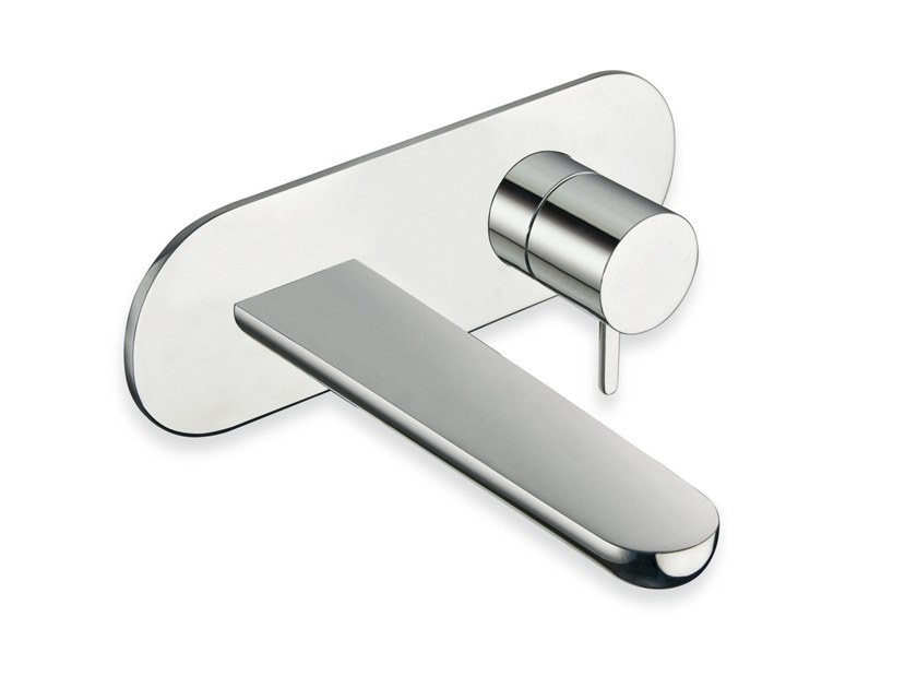Wall-mounted washbasin mixer QUEEN CRIQE256 by CRISTINA Rubinetterie