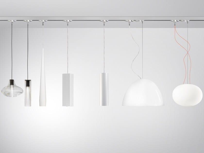 Illuminazione a binario in alluminio queens by panzeri
