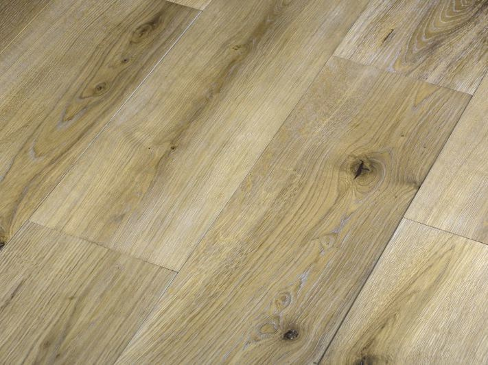 Wooden parquet Quercia tabacco by Idee Parquet