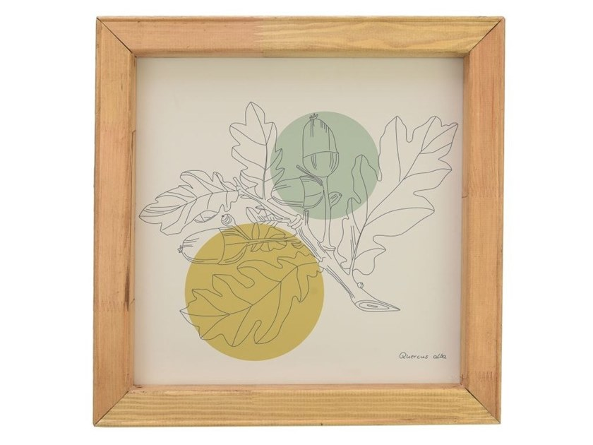 Paper Print on paper QUERCUS ALBA by Gie El Home