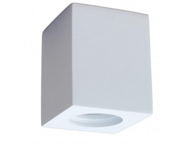 Square ceiling plaster spotlight QUICK by GESSO