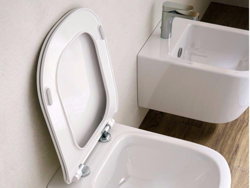 Sedile wc in ceramica QUICK RELEASE by Hidra Ceramica