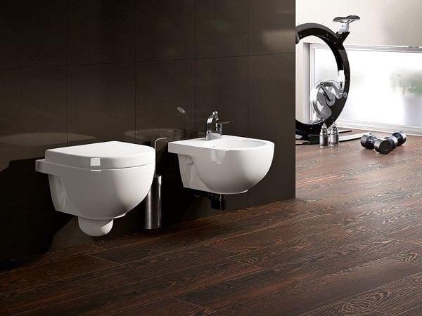 Wall-hung ceramic toilet QUICK | Wall-hung toilet by CERAMICA FLAMINIA