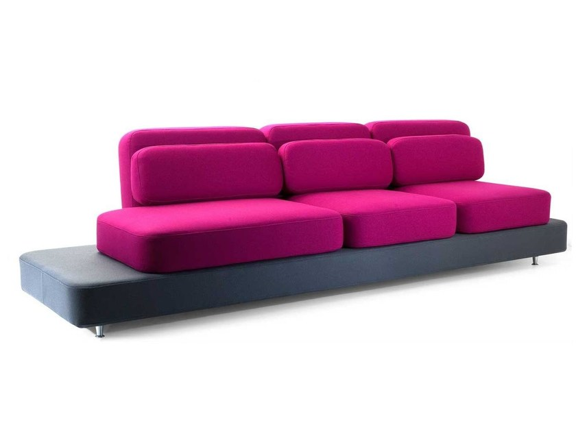 3 seater fabric sofa QUID   3 seater sofa by Adrenalina